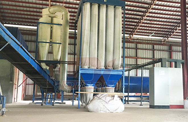 Crops Straw Drying Production Line2