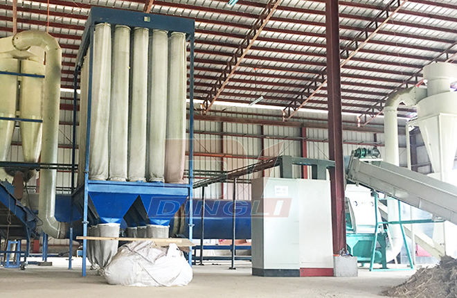 Crops Straw Drying Production Line1