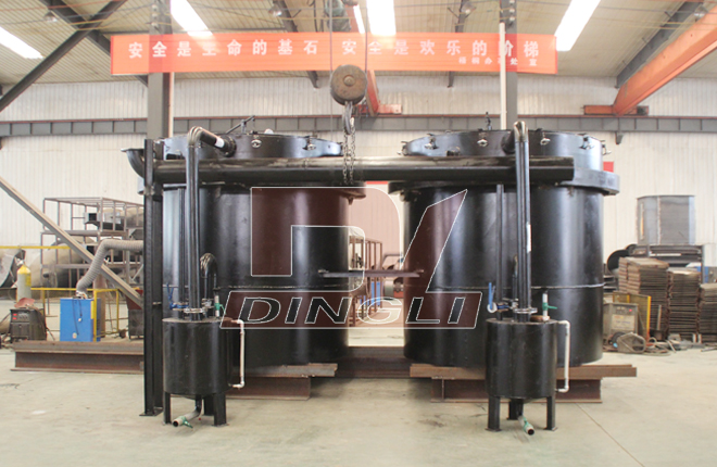 Coconut Shell Dry Distillation Carbonization Furnace