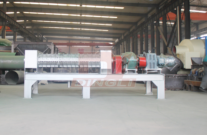 Spent Grain Screw Dewatering Machine1